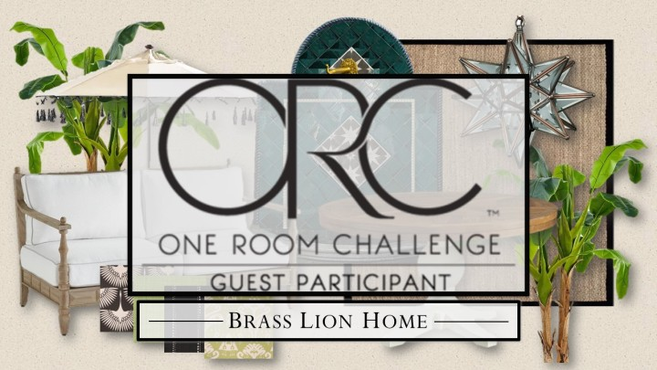 One Room Challenge Spring 2020, Week 1